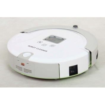Multi-Functional Robotic Vacuum Cleaner Similar to Roomba
