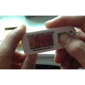 Mini Air Ion Tester for testing negative and positive air ion, Nefful negative ion clothing
