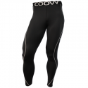 Mens Compression Sports Tights Elite Black  #011