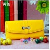 2014 Fashion New PU Leather Wallet with Bowknot