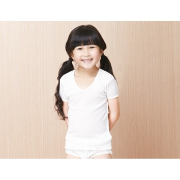 CA26/CA27/CA28 Girl's Short Sleeve Undershirt