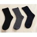 Negative Ions LS003 Neoron Men's Rib Socks