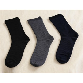 Negative Ions LS003 Neoron Men's Rib Socks